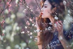 ZIYI WORK 2016_LAOWA 105mm STF (LAOWA LENS) Tags: people blur flower tree bokeh belle creamy stf 105mm laowa