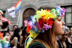 ortensia (io.robin) Tags: pride2016 firenzepride pride firenzepride2016 toscana toscanapride firenze florence tuscany rainbow colori ragazza parata profilo