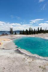 West Thumb Geyser Basin - Black Pool - Yellowstone Lake (i am pam photos) Tags: yellowstone national park west thumb geyser basin lodge black pool