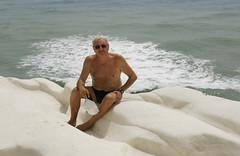 me_Scala_dei_Turchi_5016 (Manohar_Auroville) Tags: girls sea italy white beach beauty seaside rocks perspectives special scala sicily luigi dei agrigento fedele turchi scaladeiturchi manohar