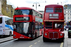 England 2016  London  Borismaster and Routemaster (Michiel2005) Tags: uk greatbritain england bus london unitedkingdom britain routemaster engeland londen vk grootbrittanni verenigdkoninkrijk borismaster