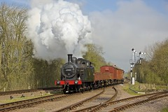 Passing the branch (davidcable347) Tags: timeline 3f swithland lms gcr jinty 47406 060t