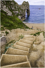 Stairway (antojacz) Tags: stairs descend durdledoor