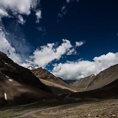 Ladakh #6 (singhajaydotcom) Tags: travel blue light shadow sky india mountains nature clouds landscape kashmir leh cloudscape ladakh