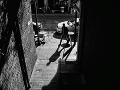 Everyday #Adelaide No. 309-2 (Autumn/Winter) (michelle-robinson.com) Tags: snapseed life 4tografie everydayadelaide southaustralia fujifilm adelaide streetphotographer australia blackandwhite moments monochrome capturinglife streetphotography everydayaustralia bw michellerobinson editedonipadair2 people michmutters xt10 documentary shadows lightandshadows