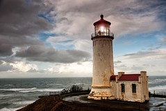 My Brothers Keeper (hmgphotos1) Tags: ocean lighthouse storm landscape washington
