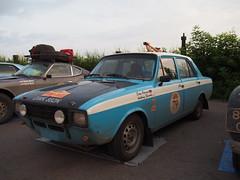 1974 - Hillman Hunter (Jasonito) Tags: paris classic car russia rally olympus retro oldtimer motor  omsk challenge peking 6th omd the 2016    em5   parispeking beijingparis   panasonic14140mmf4058 omdem5