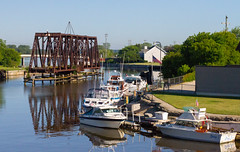 From the Washington Street Bridge (Lester Public Library) Tags: tworiverswisconsin tworivers wisconsin wisconsinlibraries boats fishing westtwinriver bridge bridges water rivers river fishingboats marina lesterpubliclibrarytworiverswisconsin readdiscoverconnectenrich