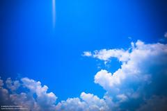 Blue Sky (IamMinhaj) Tags: sea sky beach water landscape sand tour outdoor bangladesh bayofbengal coxsbazar longestbeach