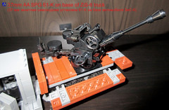 LEGO Soviet 38mm AA SPG 61-K on base of ZiS-6 truck (dmikeyb) Tags: truck lego military wwii soviet ww2 vehicle russian aa spg antiaircraft zis