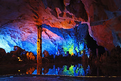 Reed Flute Cave (Alfonso Lucifredi) Tags: china reed guilin flute cave cina grotta guangxi caverna