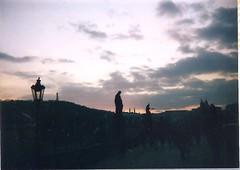 Charles Bridge (sftrajan) Tags: skies prague prag praha praga tschechien czechrepublic 1995 charlesbridge praag prga karlvmost vltavariver  karlsbrcke eskrepublika puentecarlos  republiquetchque krolyhd eka  kamennmost