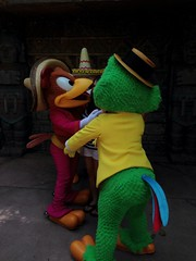 (MattCC716) Tags: epcot disney disneyworld panchito josecarioca lostrescaballeros thethreecaballeros uploaded:by=flickrmobile flickriosapp:filter=nofilter