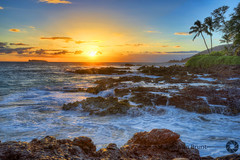 Dusk at Wedding Beach - Kihei, Maui, HI (shawnvanbrunt) Tags: ocean beach water hawaii maui kihei weddingbeach canon5dmarkiii