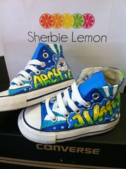 deb76c47d1d1ae blue and green graffiti converse (Sherbie lemon) Tags  blue yellow graffiti lemon  converse