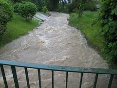 Hochwasser am 1. Juni 2013 in Kämpfelbach