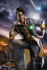 The Hero of Pandora (Hidrico) Tags: 2 portrait male photomanipulation photography photo costume cosplay videogame retouch ilustration borderlands cellshading