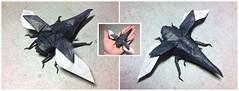 Hercules Beetle (Yarik__) Tags: paper origami beetle works hercules satoshi kamiya