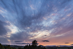 Summer sunset over Glenrothes (RagbagPhotography) Tags: sunset summer clouds scotland fife cirrus glenrothes