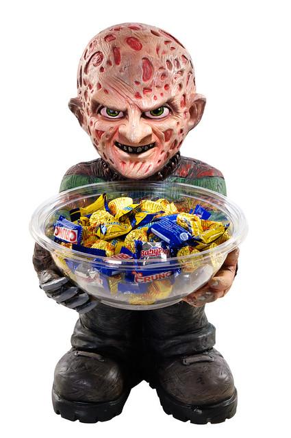 我想不是每個小孩不給糖就搗蛋!