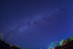 Starry Night (bunowind) Tags: blue night star okinawa   milkyway iriomote yaeyama