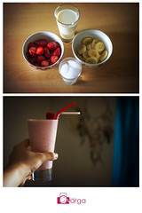 The One With Adult Strawberry/Banana Milkshake (The Real Mr V) Tags: art love me photography nikon year creative days 365 project365