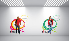 Ilustraes - Sitel (leollomba) Tags: design identity