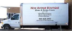 Vehicle Graphics | Signarama Meadowvale, ON | New Avenue Boutique