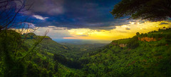 The view from Lacam Lodge near Sipi Falls