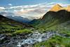 Mullitzbach (Youronas) Tags: sunset mountain mountains alps river dawn austria österreich nationalpark stream glow alpine dämmerung alpen virgen alpenglow osttirol hohetauern tauern virgental lasörling lasörlinggruppe uppertauern mullitz mullitztal hightauern virgenvalley mullitzbach