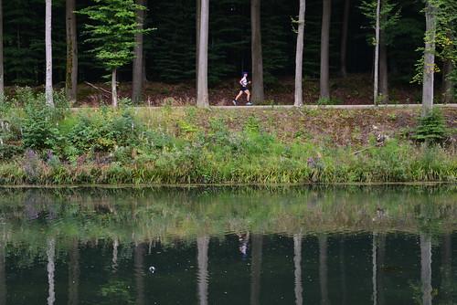 Jogging en pleine nature