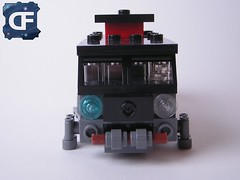 Cyberpunk VW (2) (Dead Frog inc.) Tags: fiction black volkswagen punk lego space gray mini science scifi spaceship fi van volks sci spacecraft cyber moc wagen