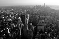 Downtown (Dag4) Tags: newyorkcity sunset urban view manhattan empirestatebuilding