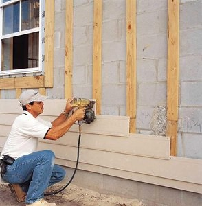 Revestimiento De Paredes Con Fibrocemento Ventajas - Revestir-pared-exterior