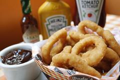 Onion Rings (ossadah) Tags: original hotdog onion budweiser fogo brahma boteco coxinha cachaa chopp frutosdomar petisco churrasquinho acaraje natalicio