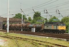 """Railfreight Distribution Class 47/3, 47330 """"Amlwych Freighter / Tren Nwyddau Almwch"""" (37190 """"Dalzell"""") Tags: spoon duff wigan rfd class47 railfreightdistribution 47330 triplegrey springsbranch brush4 class473 trainloadfreight amlwychfreightertrennwyddaualmwch"""