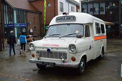 Transit abulance (PD3.) Tags: uk england coastguard dog st vintage fire blood day police hampshire ambulance nhs service johns brigade unit 999 fareham hants
