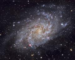 M33 Triangulum Galaxy (B-Fool) Tags: uk astrophotography flt132 Astrometrydotnet:status=solved sxh694 ff1v Astrometrydotnet:id=nova130435