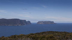 Tasman Island from Mount Brown