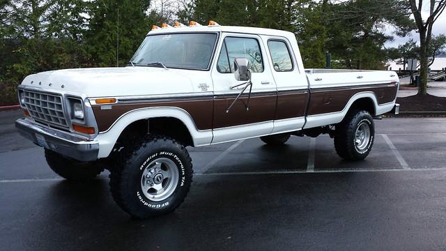 ford truck ranger 4x4 pickup 1979 supercab xlt f250