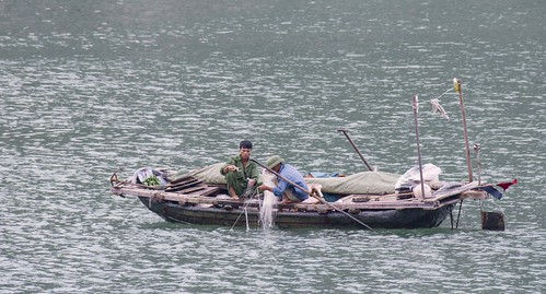 Ha Long Bay - fisherman