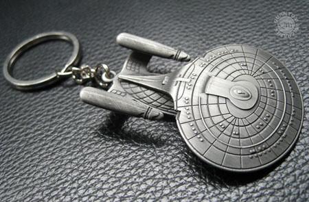 聯邦星艦企業號鑰匙圈推薦!