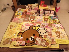 My Rilakkuma Collection - 1/6/14 (happyakuen) Tags: cute japan japanese tokyo kawaii stationery crux stationary qlia rilakkuma sanx kamio