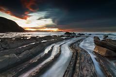 Colours (BIZKAIA) (Jonatan Alonso) Tags: sunset sea water mar bizkaia basquecountry cantabrico barrika