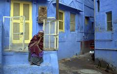 @Jodhpur-Blue city (Vasanthkumar Kanagaraman) Tags: blue india rajasthan jodhpur cwc incredibleindia discoverindia chennaiweekendclickers
