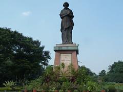 Statue d'Indira Gandhi