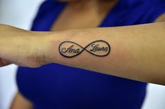 Ana laura/infinito (Thiago Padovani) Tags: tattoo ink symbol infinity name tattoos infinito tatuaje inked tatuagem simbolo analaura thiagopadovani mementomoritattoostudio