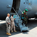 Central African Republic Airlift mission images from Bangui