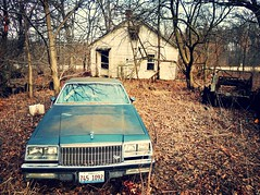 only the memories remain.... (BillsExplorations) Tags: abandoned farmhouse rural vintage illinois buick rust ruins decay destruction memories forgotten discarded hazardous abandonment ruraldecay watchtower farmmachinery oncewashome illinoisabandonment packoffun