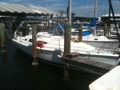 """Sail boat delivery to Clearwater • <a style=""""font-size:0.8em;"""" href=""""http://www.flickr.com/photos/69210373@N08/12290102655/"""" target=""""_blank"""">View on Flickr</a>"""